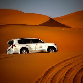 Safari ride.... by Stanley P. - Transportation Automobiles ( ride, sand, dunes, safari )