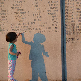 Shadows of the past and future by Jay Hathaway - Babies & Children Children Candids ( shadow, past, future, memorial )