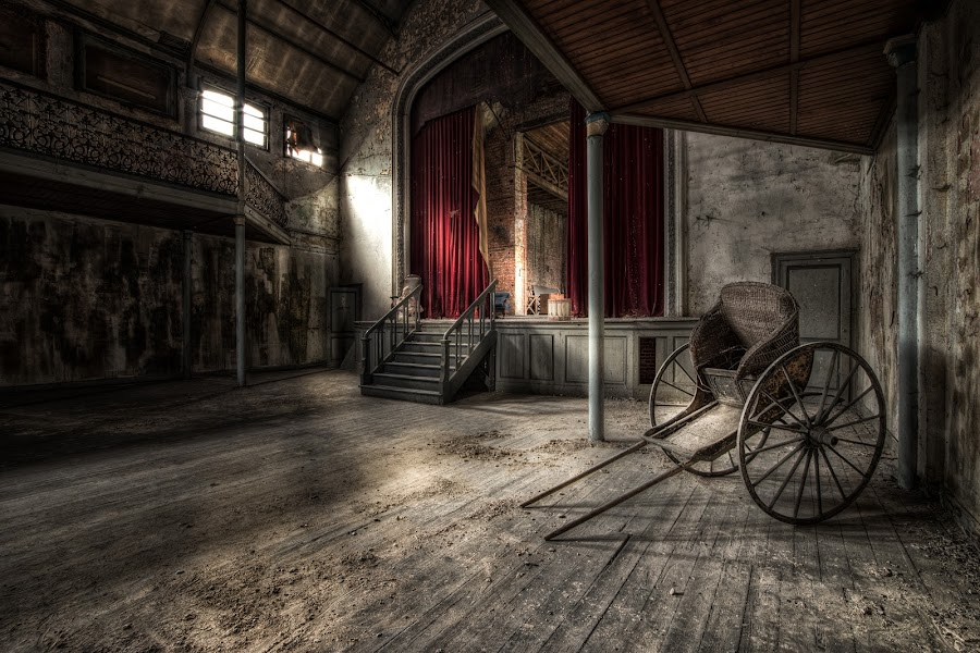 by Esmeralda Holman - Buildings & Architecture Decaying & Abandoned ( urban exploration, urbex, play, theater )