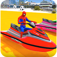 Superheroes Jet Ski Stunts: Top Speed Racing Games For PC Free Download (Windows/Mac)