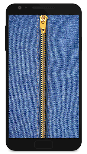 Zipper Lock Screen Jeans screenshot 1