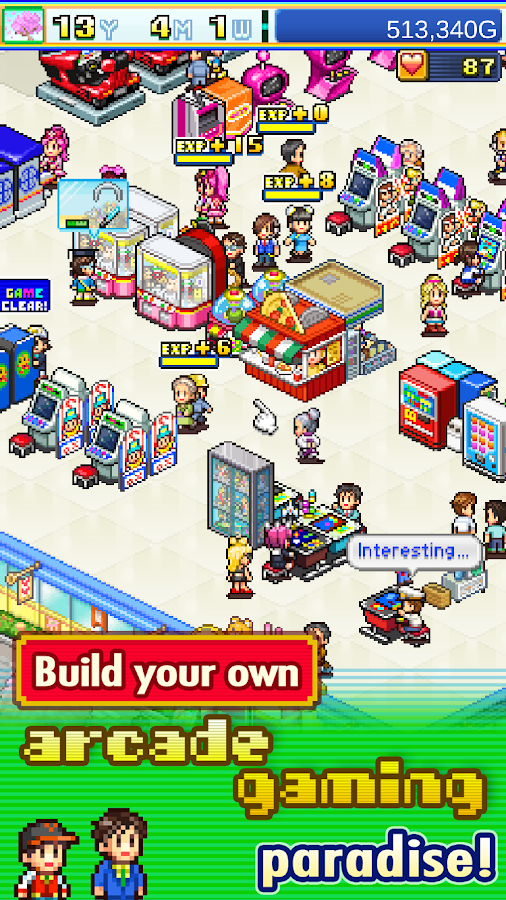 Pocket Arcade Story Screenshot 0