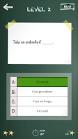 Screenshot of iPractise English Grammar