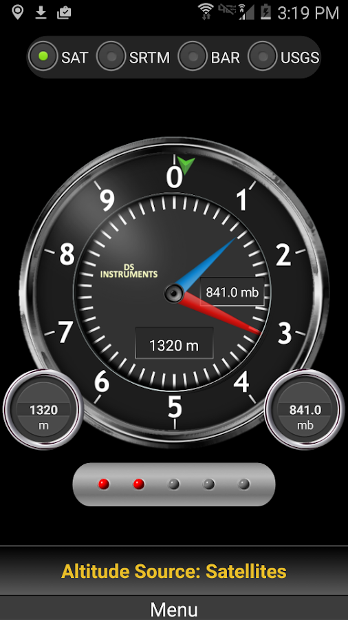 DS Altimeter Screenshot 1