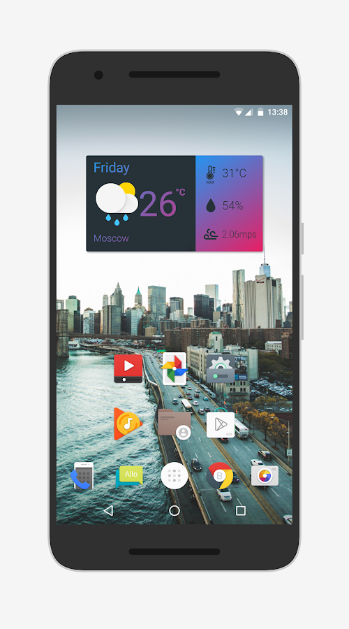 Nougat for Zooper Screenshot 16