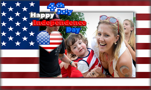 Happy 4th of July Photo Maker - screenshot