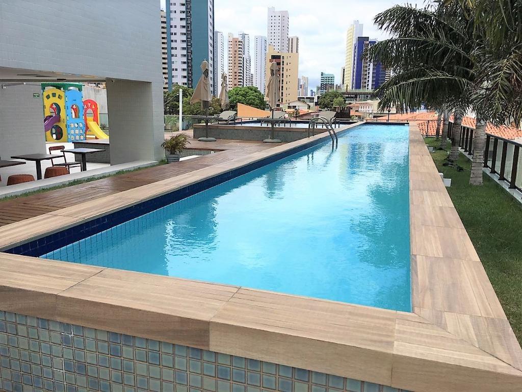 Apartamento com 3 dormitórios à venda, 97 m² por R$ 490.000 - Manaíra - João Pessoa/PB