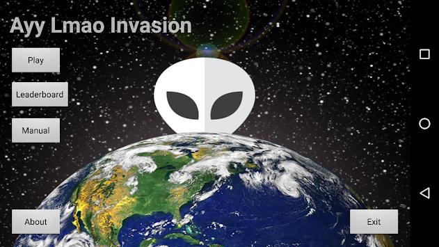 Ayy Lmao Invasion apk screenshot