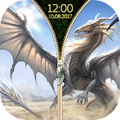 Dragon Zipper Screen Locker APK for Bluestacks