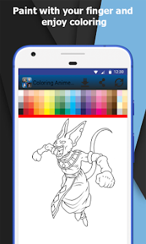 Coloring Book Anime And Manga APK screenshot thumbnail 6