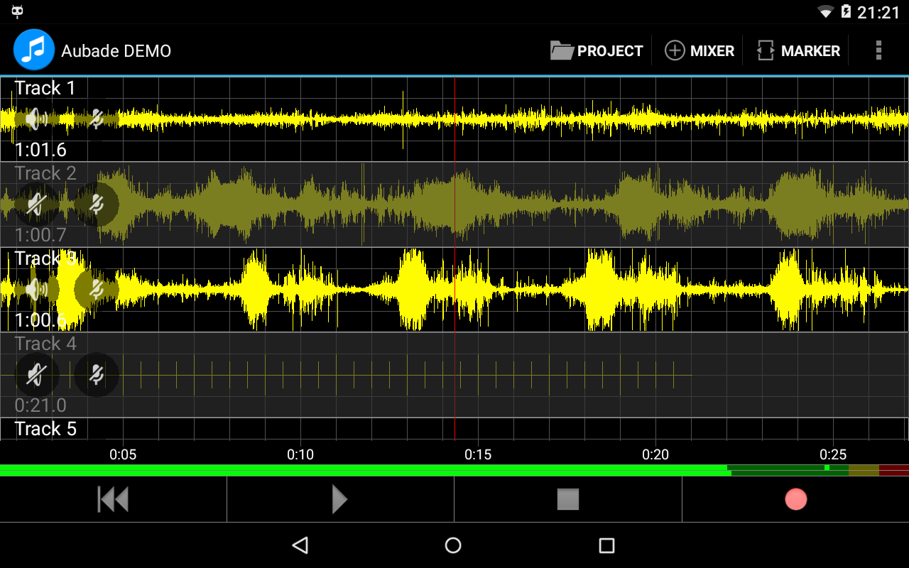 Aubade Audio Studio Screenshot 8