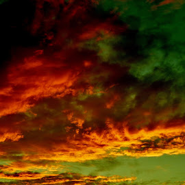 xtreme dream#1 by Thor Erik Dullum - Landscapes Cloud Formations ( clouds, extreme, nature, sunset, norway )