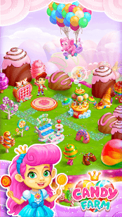 Sweet Candy Farm with magic Bubbles and Puzzles for pc