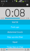 Screenshot of Scientific 7 Minute Workout