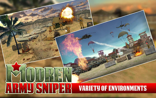 Modern Army Sniper Shooter - screenshot