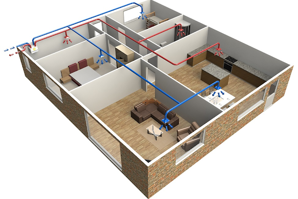 heat recovery ventilation installation