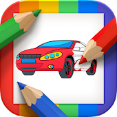 Game Cars Coloring Book APK for Kindle