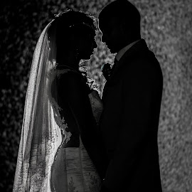 Rain by Lodewyk W Goosen (LWG Photo) - Wedding Bride & Groom ( wedding photos destination, wedding photography, wedding photographers, black and white, wedding, weddings, wedding day, brides, wedding photographer, bride, groom, bride groom )