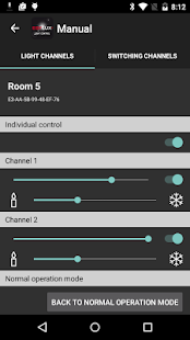 ESYLUX Light Control - screenshot