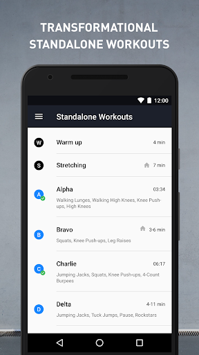 Runtastic Results Home Workouts & Personal Trainer screenshot 5