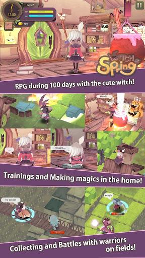 WitchSpring - screenshot