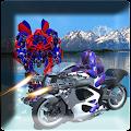 police moto robot transform