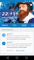 Screenshot of Wyndham Rewards