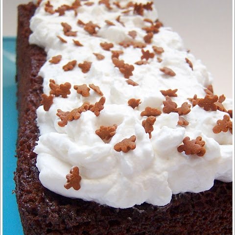 Cold Tea Gingerbread with Whipped Cream Cheese Frosting