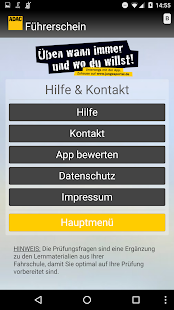 app adac f hrerschein apk for windows phone android games and apps. Black Bedroom Furniture Sets. Home Design Ideas
