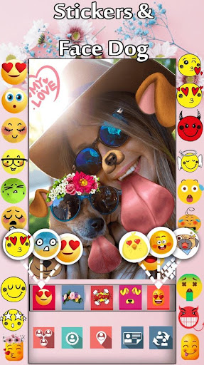 New Flower Crown Stickers Photo Editor