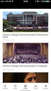 The Buzz: Centre College - screenshot