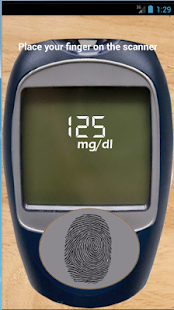 Blood Sugar Scanner HD Prank - screenshot