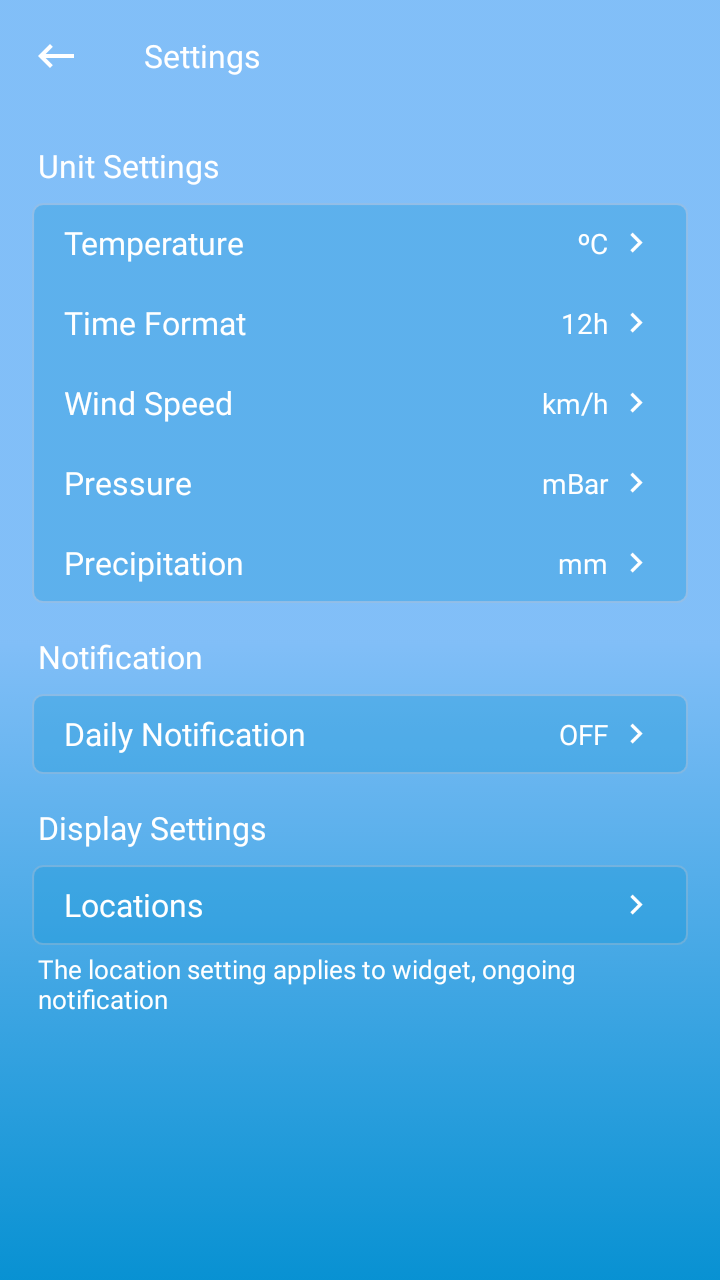 Weather Live Pro Screenshot 4
