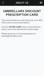 Pharmacy Discount Rx Card - screenshot
