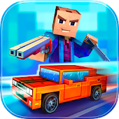 Download Block City Wars + skins export APK on PC