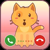Fake Call Cat APK for Bluestacks
