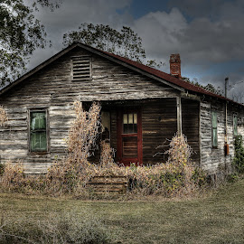 Abandoned Home by Ron Olivier - Digital Art Places ( abandoned home,  )