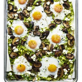 Leek Mushroom Egg Bake Recipes