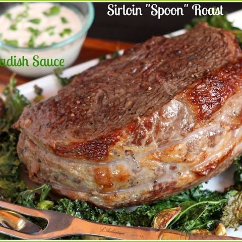 "Sirloin ""Spoon"" Roast with Horseradish Sauce"