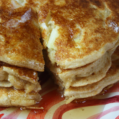 Whole Wheat Apple Pancakes