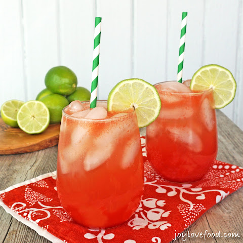 Watermelon Lime Coolers