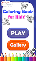 Screenshot of Coloring Book for Kids