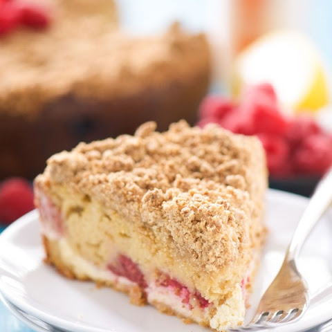 Lemon Berry Cream Cheese Coffee Cake