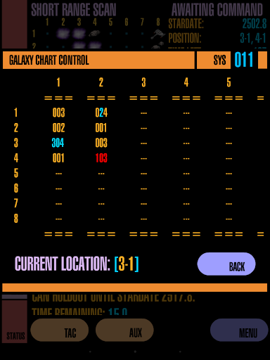 NX-TREK - screenshot