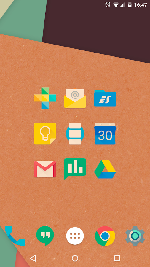 Iride UI is Hipster Icon Pack Screenshot 9