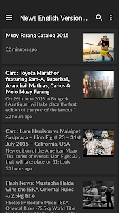 Muay Thai News MuayFarang.com - screenshot