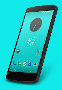 Nuclear Cyan CM13 Theme- screenshot thumbnail