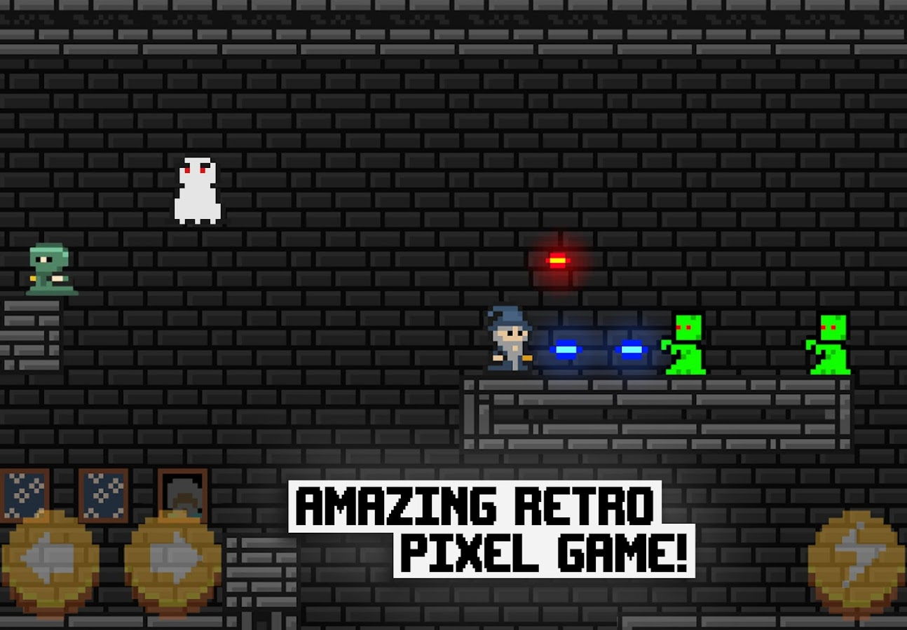 Pixel Wizard Adventures 2D Screenshot