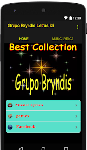Grupo Bryndis Lyrics izi - screenshot