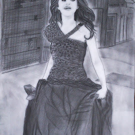 Who says i'm not beautiful..!!! :D by Rahul Gajjar - Drawing All Drawing